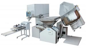 Tren de laboreo para obrador de panaderia