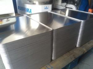 Bandejas de aluminio para panadería y pastelería