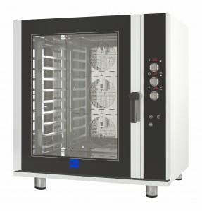 Horno de convección eléctrico de 10 bandejas ideal para panadería y pastelería
