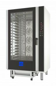 Horno de convección eléctrico de 16 bandejas ideal para la panadería y pastelería