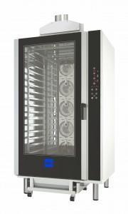 Horno de convección a gas de 16 bandejas ideal para panadería y pastelería