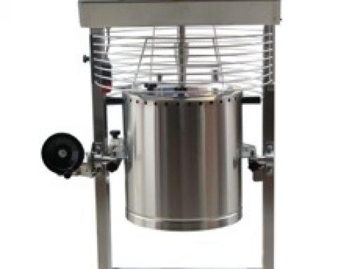 Nuevo cocedor de cremas para turron o nougat