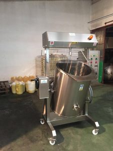 Cocedor de cremas para croquetas y bechameles