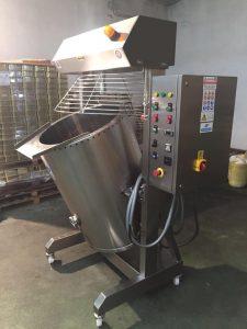 Cocedor de cremas 250lts para croquetas gourmet