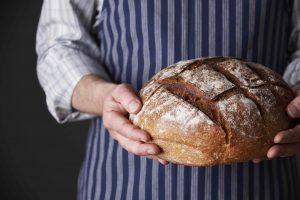 pan elaborado con amasadora de horquilla Rubhima