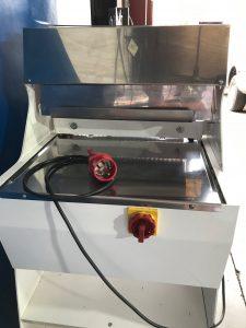 detalle conexión eléctrica cortadora de ocasión